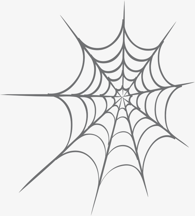 650x722 Simple Black Spider Web, Simple Spider Web, Lines, Little Fresh