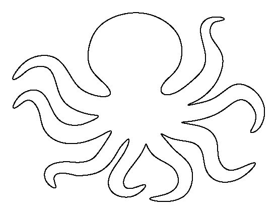 550x425 Octopus Head Clipart