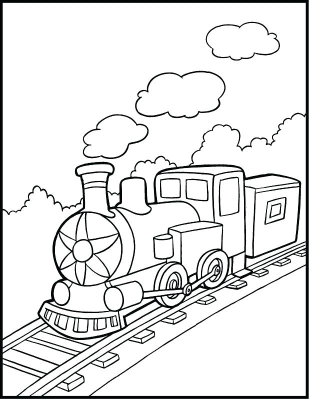 618x798 Train Engine Coloring Page Little Engine That Could Coloring Pages