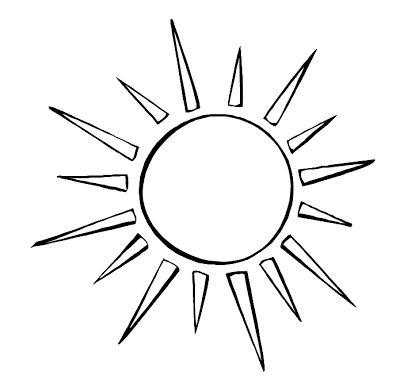 Simple Sun Drawing