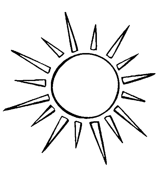Simple Sun Drawing at GetDrawings.com | Free for personal use Simple ...