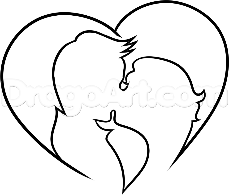 969x824 Easy Pencil Drawings Of Lover Simple And Cute Pencil Drawing Easy