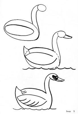 274x400 Paso A Paso Con Jeannine Como Dibujar Un Pato Y Un Cisne