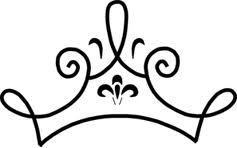 237x148 Simple Tiara Tattoos