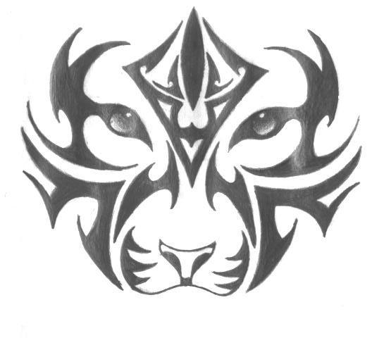 Simple Tiger Face Drawing At Getdrawings Com Free For Personal Use