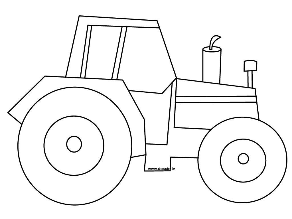 Simple Tractor Drawing at GetDrawings.com   Free for personal use ...