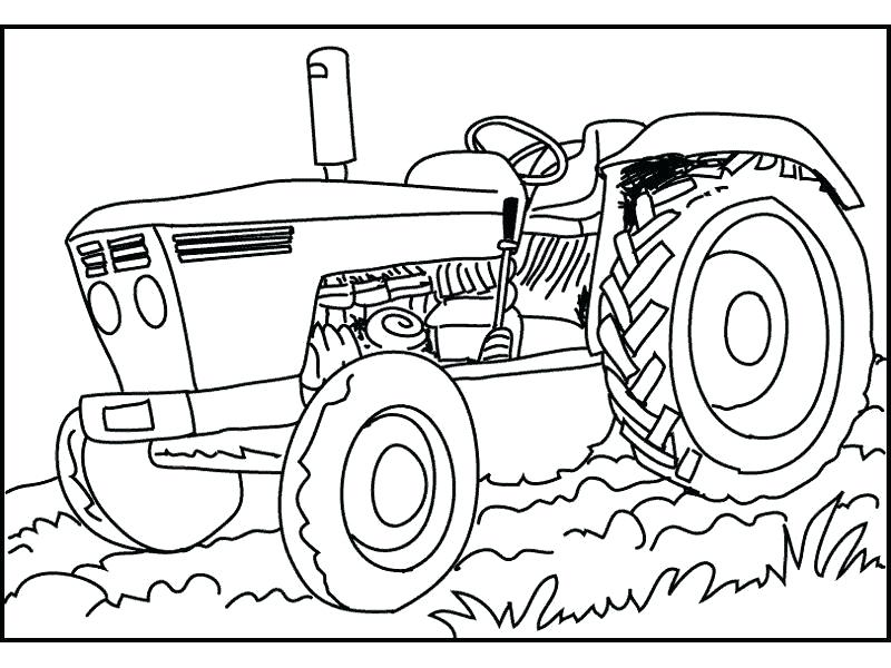 800x600 This Is Tractor Coloring Pages Pictures Share Simple Tractor