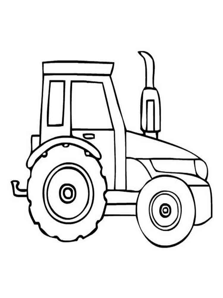 750x1000 Tractor Coloring Pages. Download And Print Tractor Coloring Pages