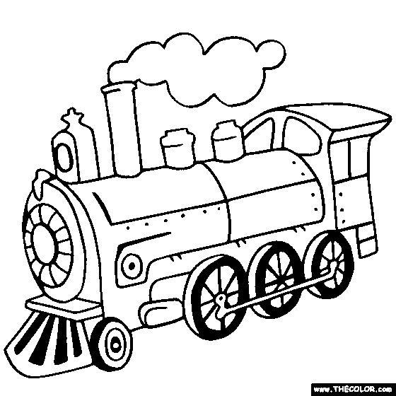 Simple Train Drawing At Getdrawings Com