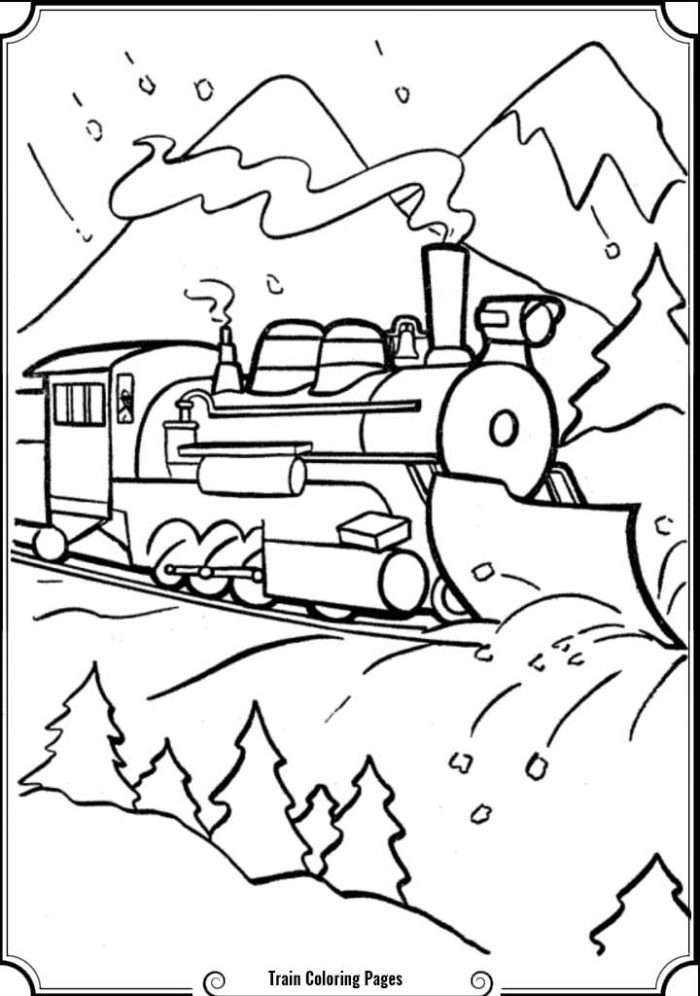 Simple Train Drawing at GetDrawings.com | Free for personal use ...