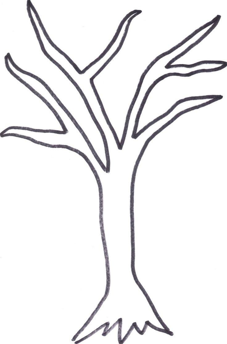 736x1117 Simple Tree Drawings Simple Tree Drawing