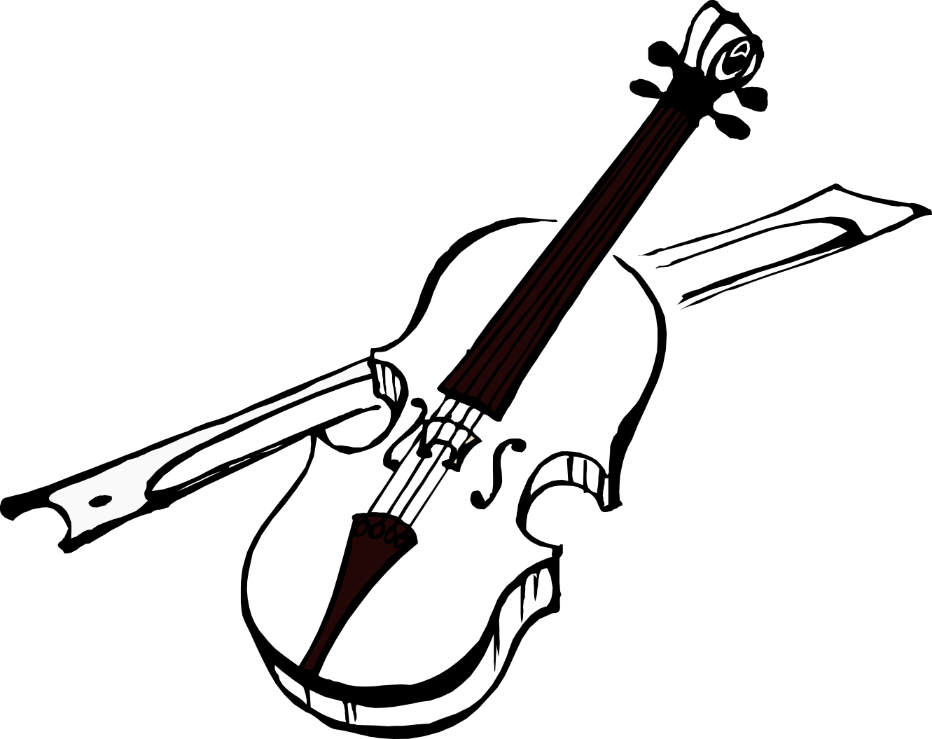 1331x1055 Fiddle Clipart Collection