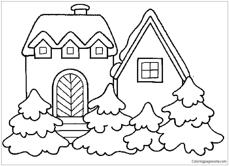 936x679 White House Coloring Pages House Color Page White House Coloring
