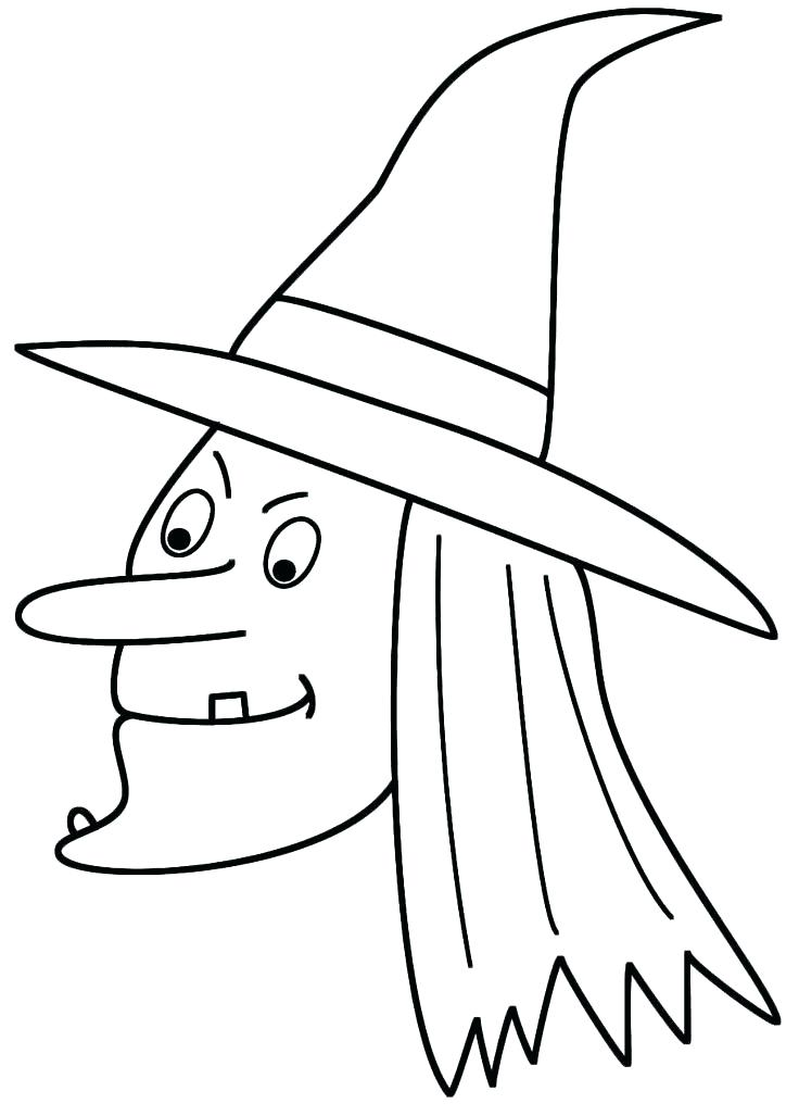 736x1027 Witch Coloring Pictures Easy Coloring Pages Printable Witch