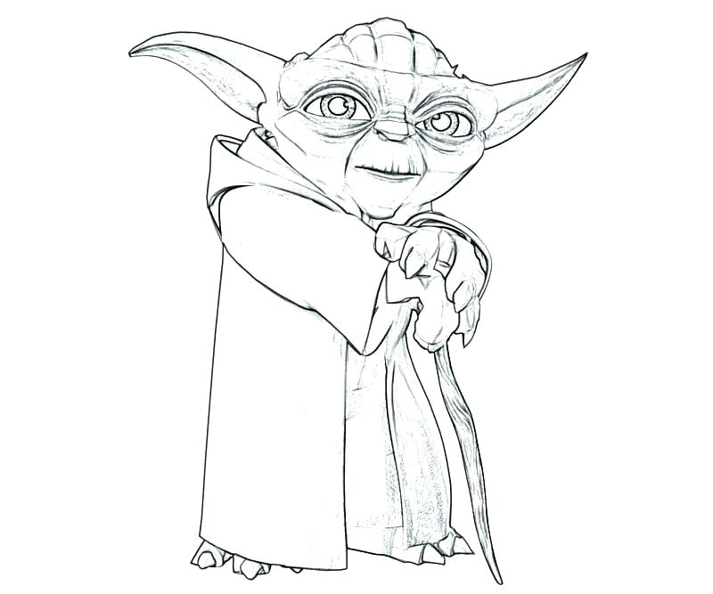 Marvelous 800x667 Yoda Coloring Page U2013 Cortefocal.site