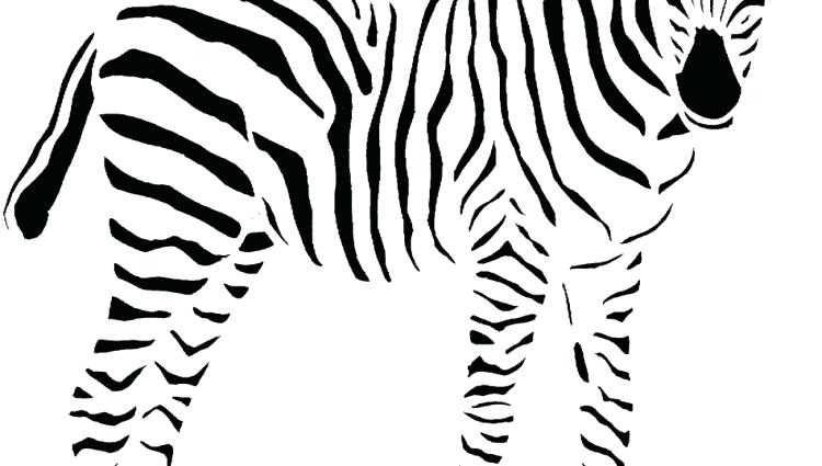750x425 Zebra Coloring Pages. Perfect Zebra Coloring Pages Printable
