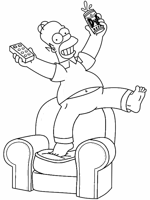 Simpsons Drawing at GetDrawings.com | Free for personal use Simpsons ...