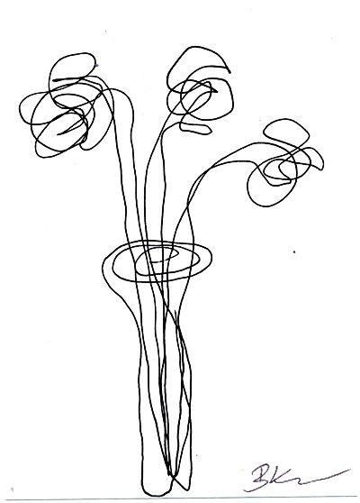 400x558 The Best Flower Line Drawings Ideas On Flower