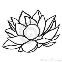 Single Flower Drawing