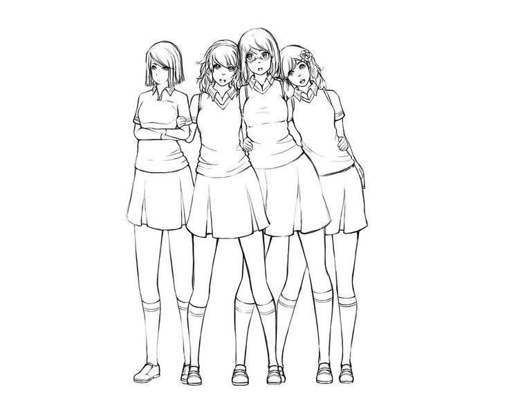 Sister Drawing
