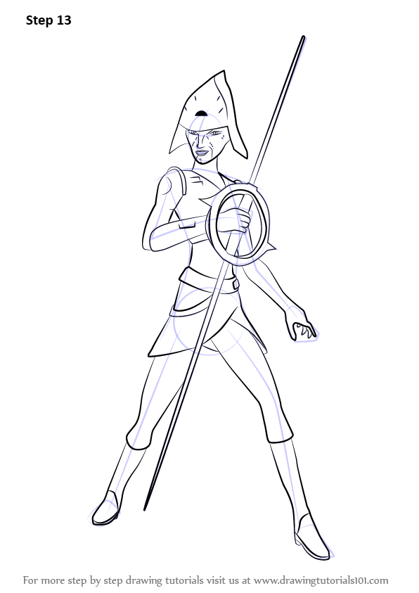 596x843 Learn How To Draw Seventh Sister From Star Wars Rebels (Star Wars
