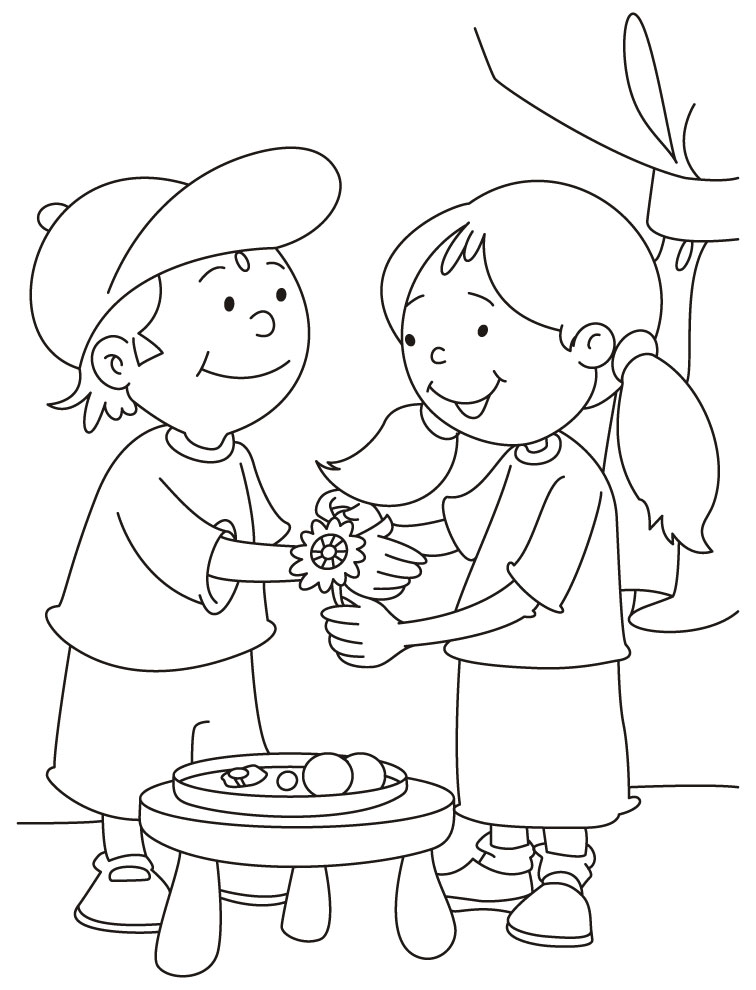 756x990 Rakhi Festival Drawing Happy Raksha Bandhan Rakhi