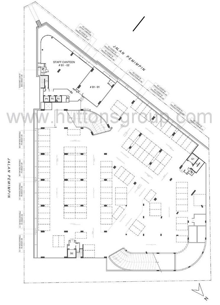 743x1031 Mapex @ Jalan Pemimpin Singapore Site Plan B1 Industrial New Launch