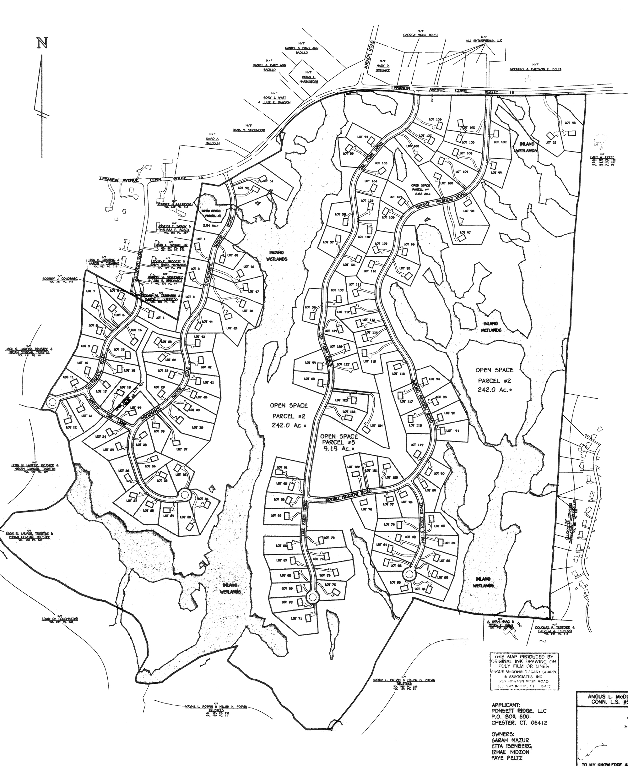2000x2438 Site Plan Gavire Amp Goldberg Estates