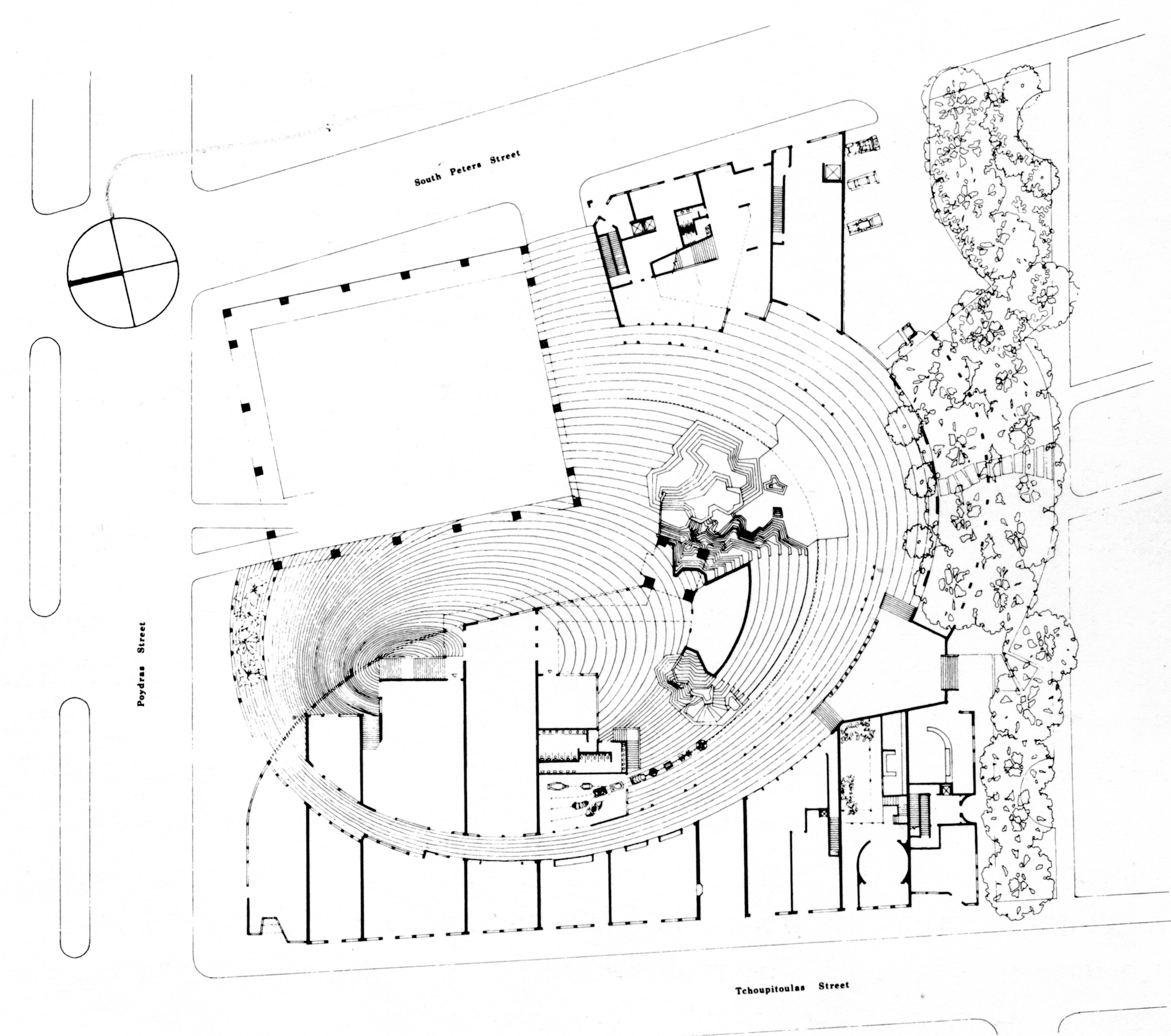 4372x3870 Site Plan For Urban Innovations' (Charles Moore, Principal