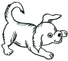 236x214 Drawing Of A Cartoon Dog