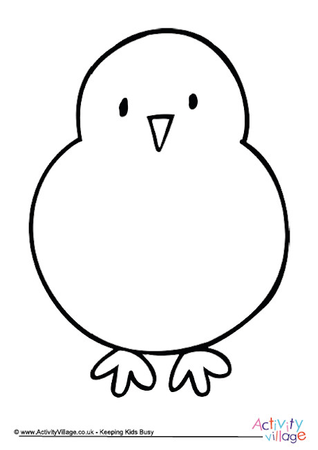 460x652 Learn To Draw A Chick