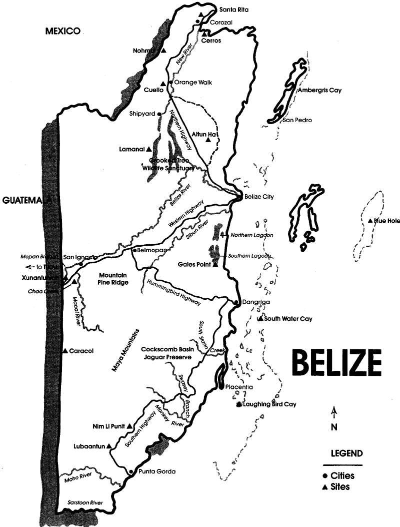 800x1053 Maya Archaeological Sites Of Belize, Belize History