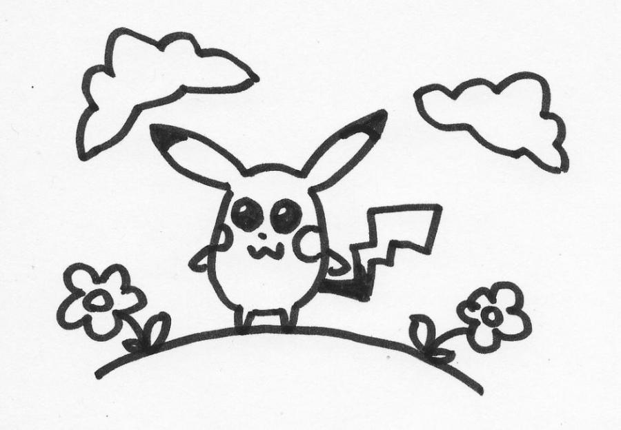 900x624 Pikachu Fairy Tale Characters. Drawings. Pictures. Drawings