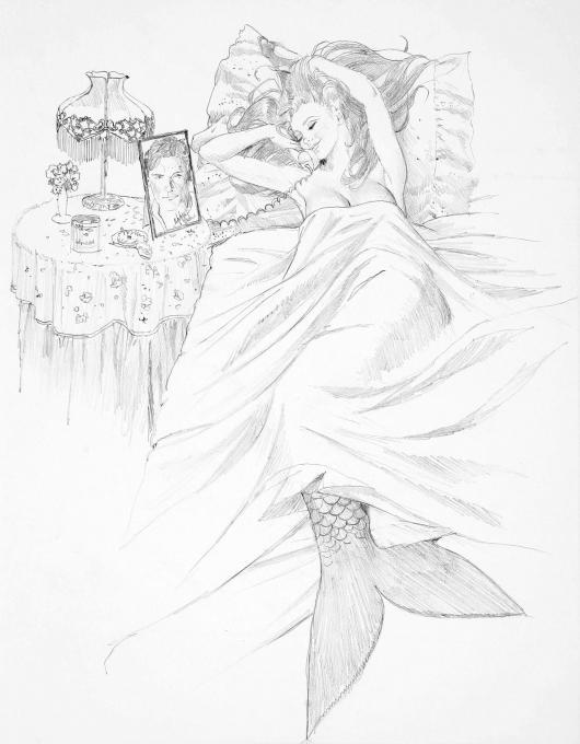 530x680 Mermaid. Fairy Tale Characters. Drawings. Pictures. Drawings Ideas
