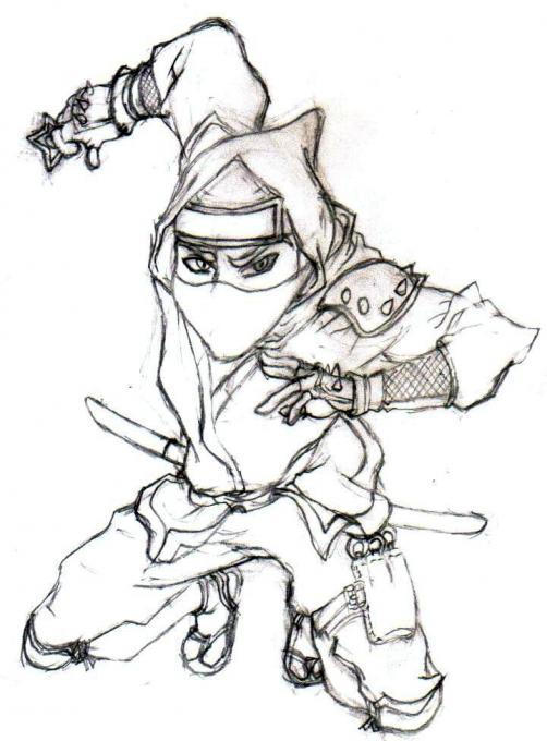 502x680 Ninja. People. Drawings. Pictures. Drawings Ideas For Kids. Easy