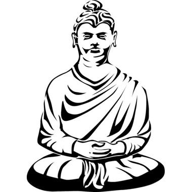 380x380 Sitting Buddha Tattoo