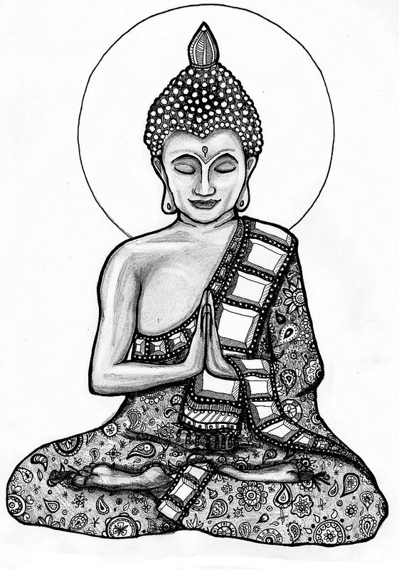 561x800 Buddha 2 Buddha, Tattoo And Drawings