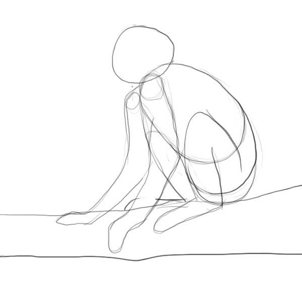 600x600 How To Draw A Monkey