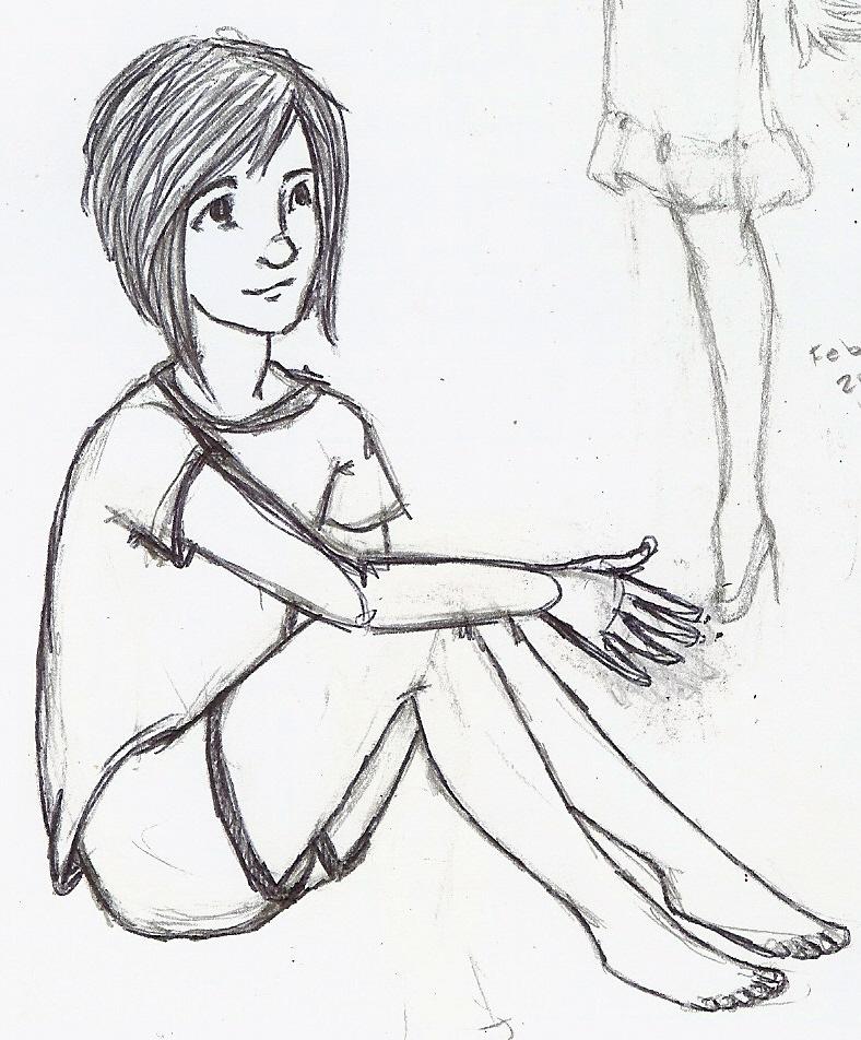 788x952 Girl Sitting Down By Secretaffections