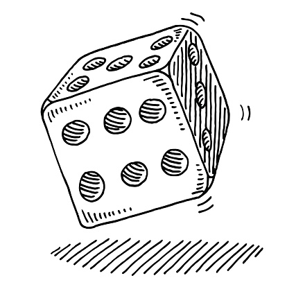 414x414 Rolling Dice Drawing Dice And Draw Cloud And Rain