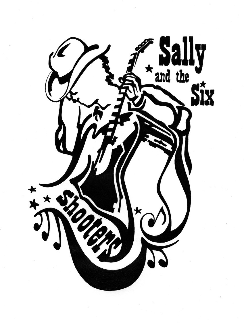 849x1125 Sally And The Six Shooters Reverbnation