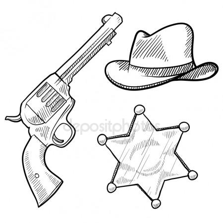 450x450 Six Shooter Stock Vectors, Royalty Free Six Shooter Illustrations