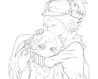 400x322 Good Coloring Pages Anime Print Boy Page Image Images Trend