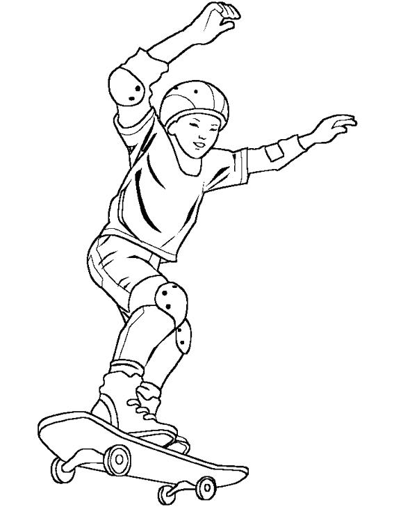 567x729 Skateboard