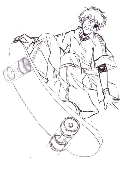 500x732 Skateboard Byegreyelephant