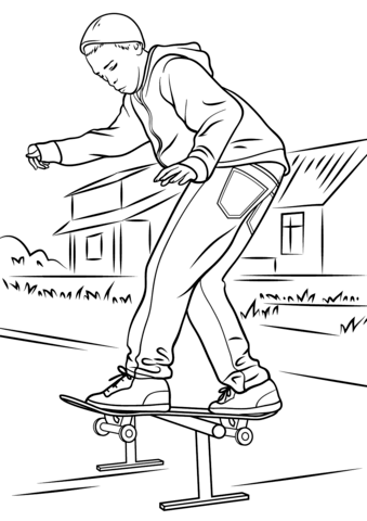 how to draw a skate bording shoe