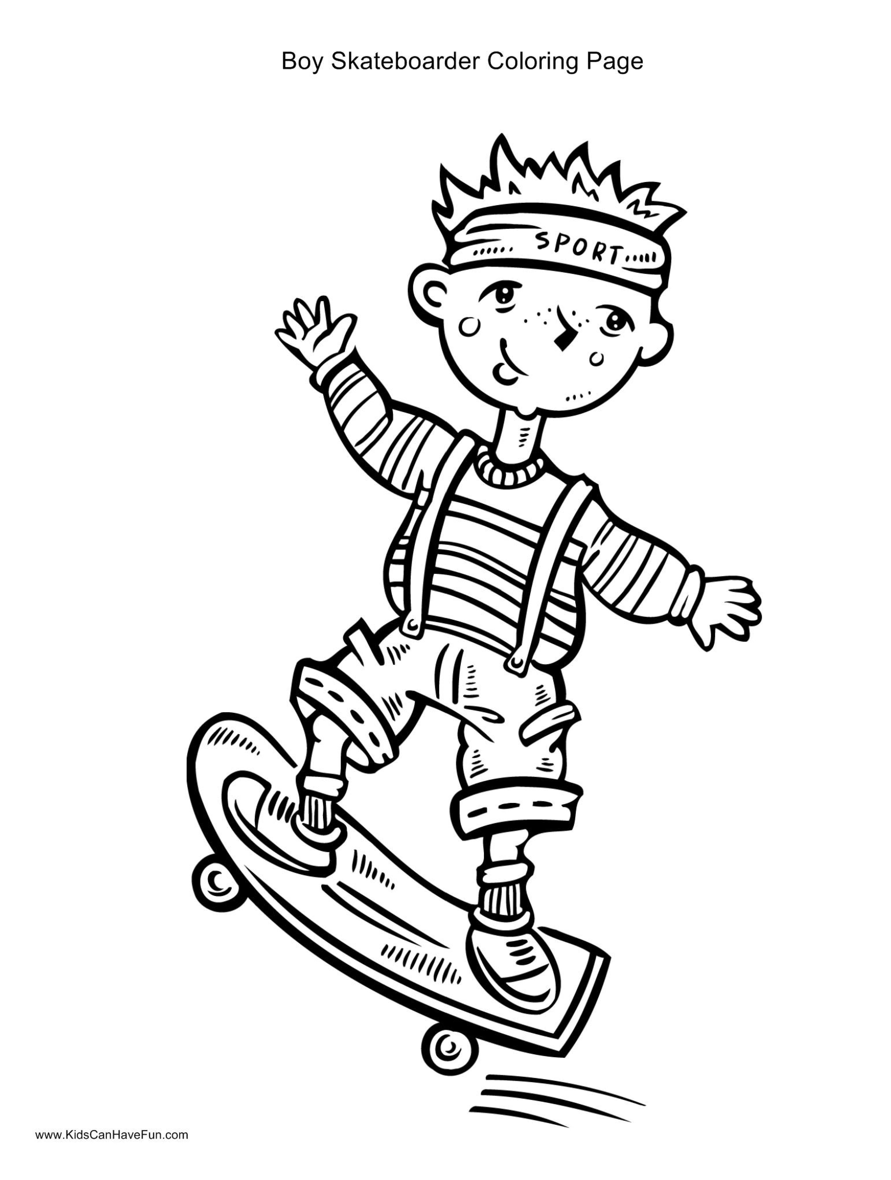Skateboarder Drawing at GetDrawings | Free download
