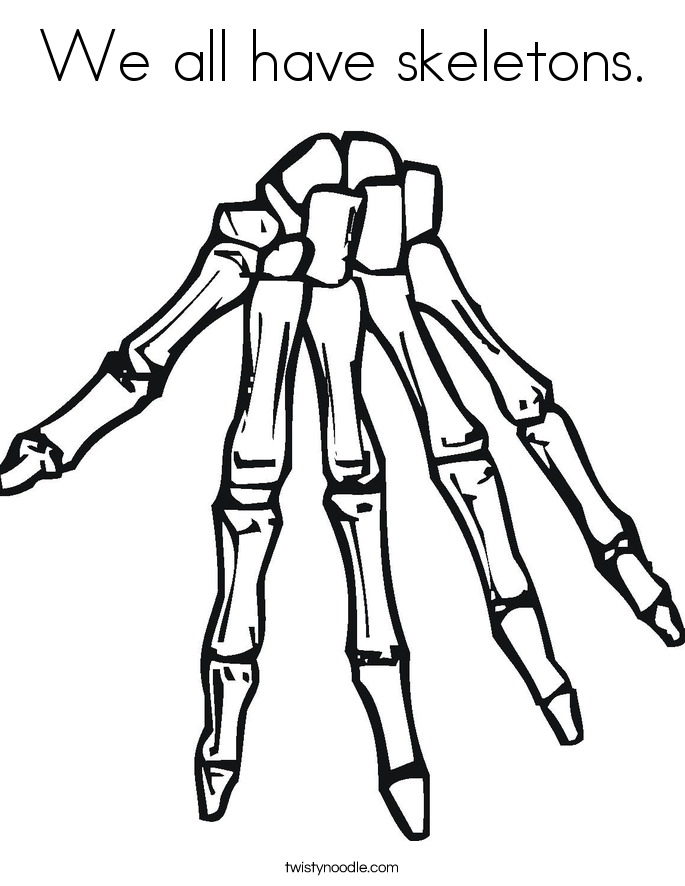 Skeletal System Drawing at GetDrawingscom Free for personal use