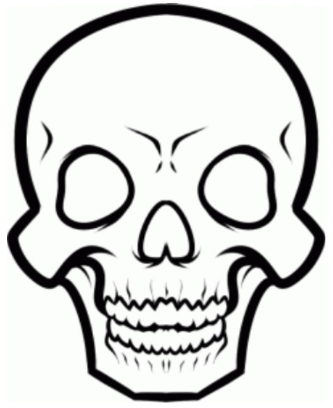 479x587 Ways To Improve Drawing Amp How To Draw Skeleton Face And Skull