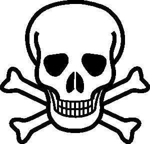 300x289 Skull And Crossbones Clip Art